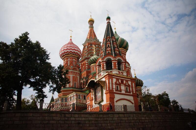 Bild zu Basilius-Kathedrale