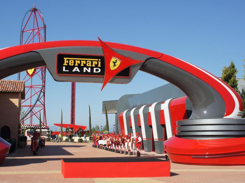Bild zu Themenpark «Ferrari Land» in Spanien