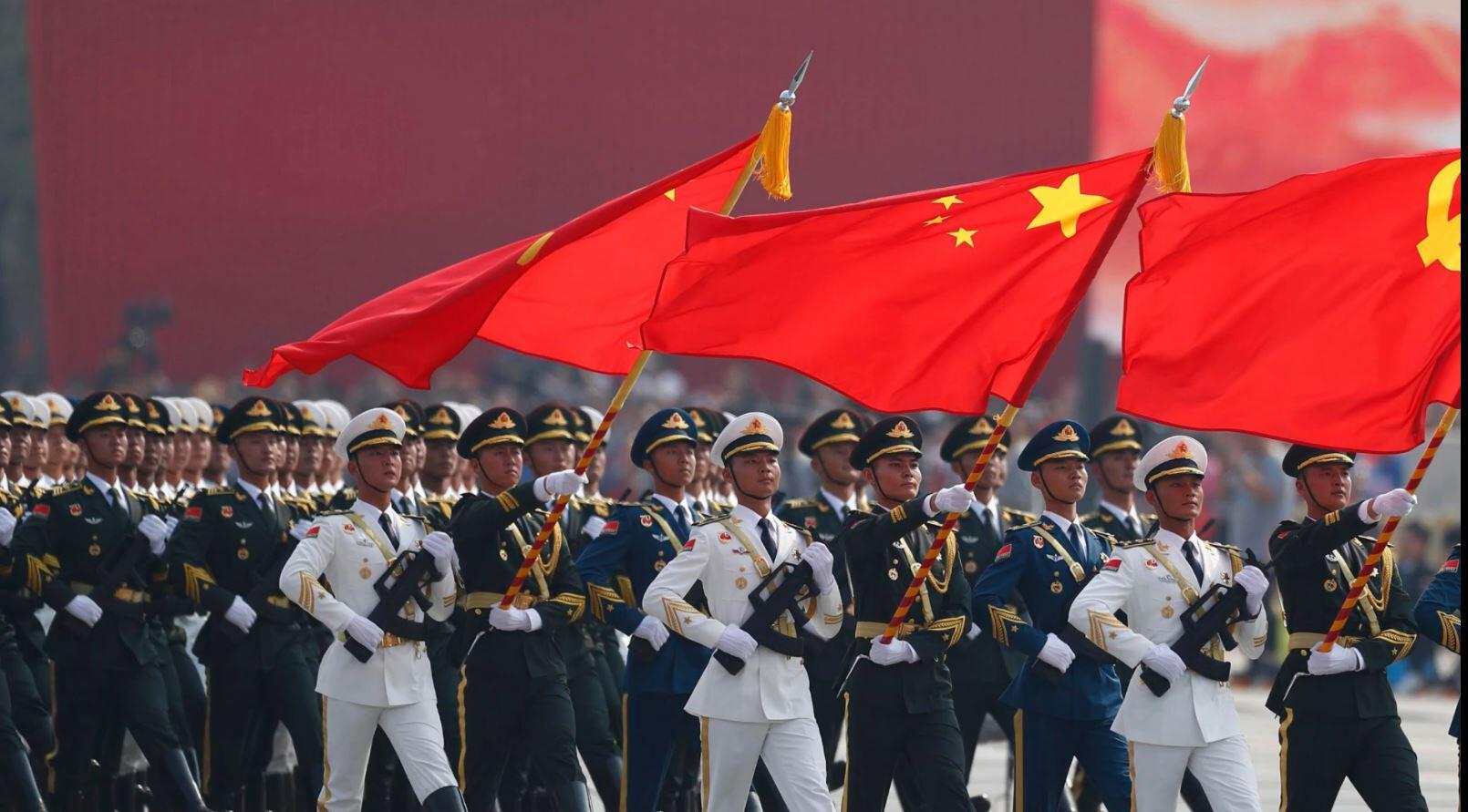 Bild zu China, Parade