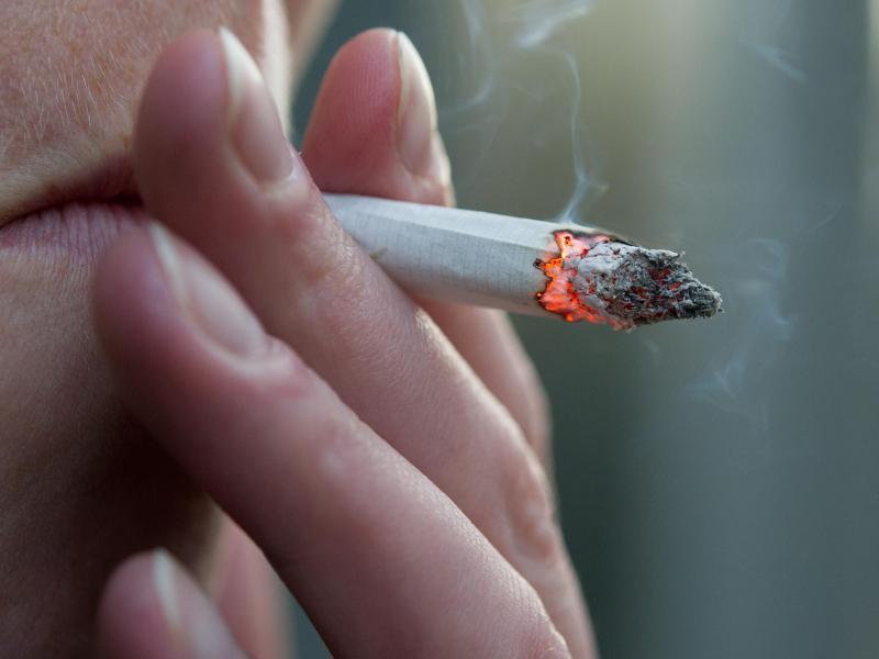 Bild zu Raucherpause