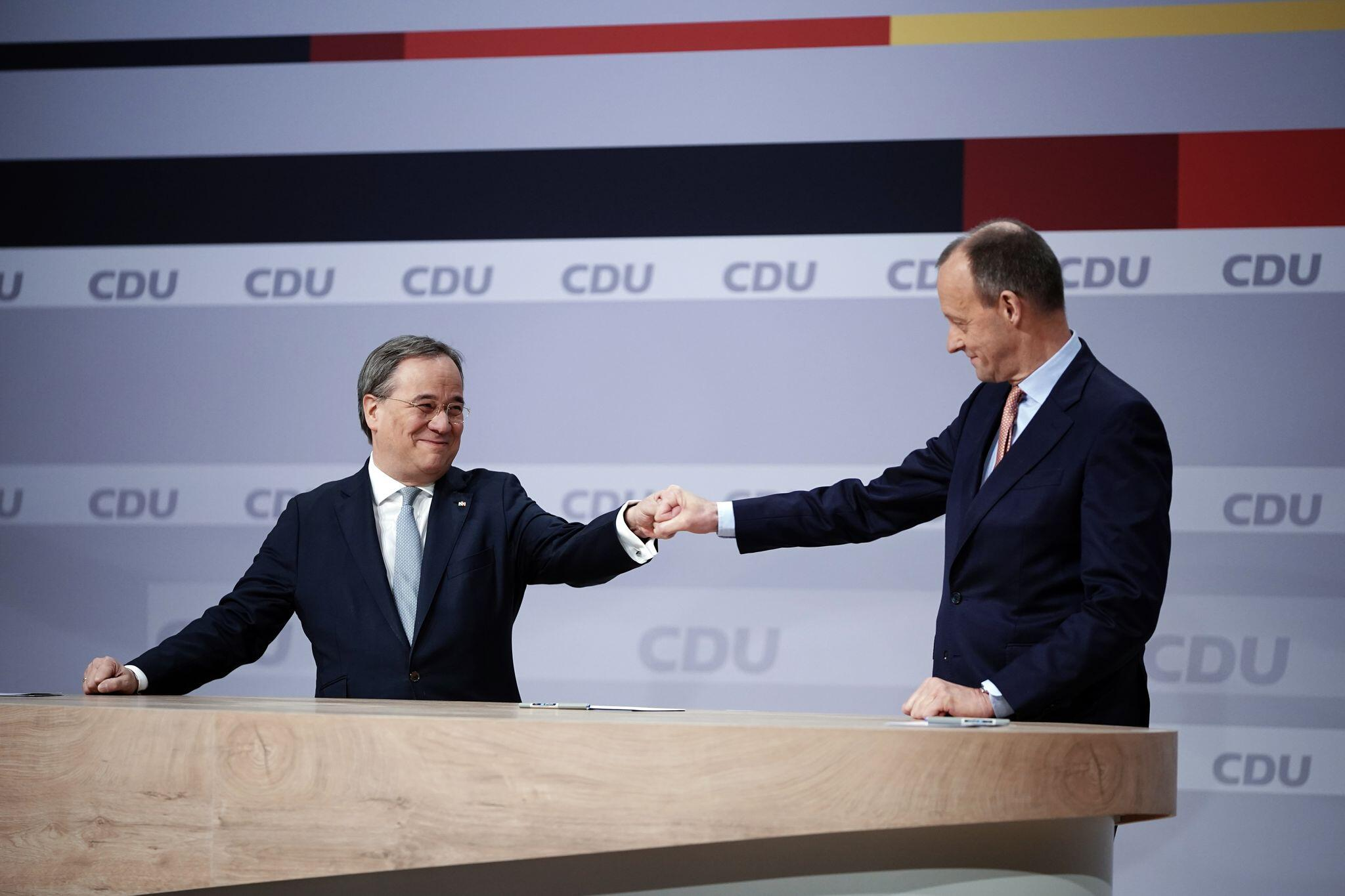 Bild zu Digitaler CDU Bundesparteitag