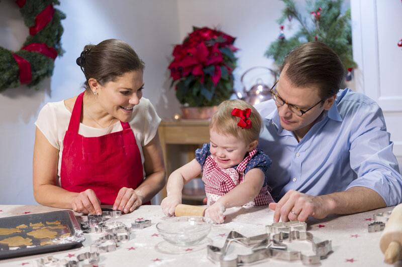 Bild zu Weihnachten bei den schwedischen Royals