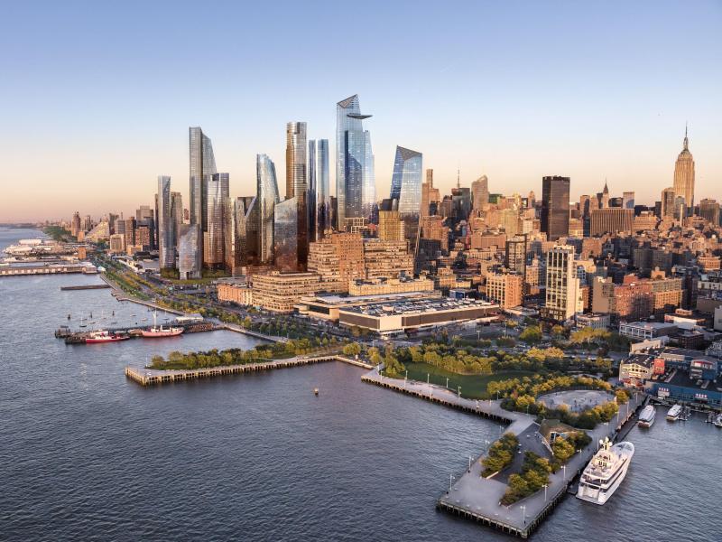 Bild zu Neue Aussichtsplattform mit Glasboden in New York
