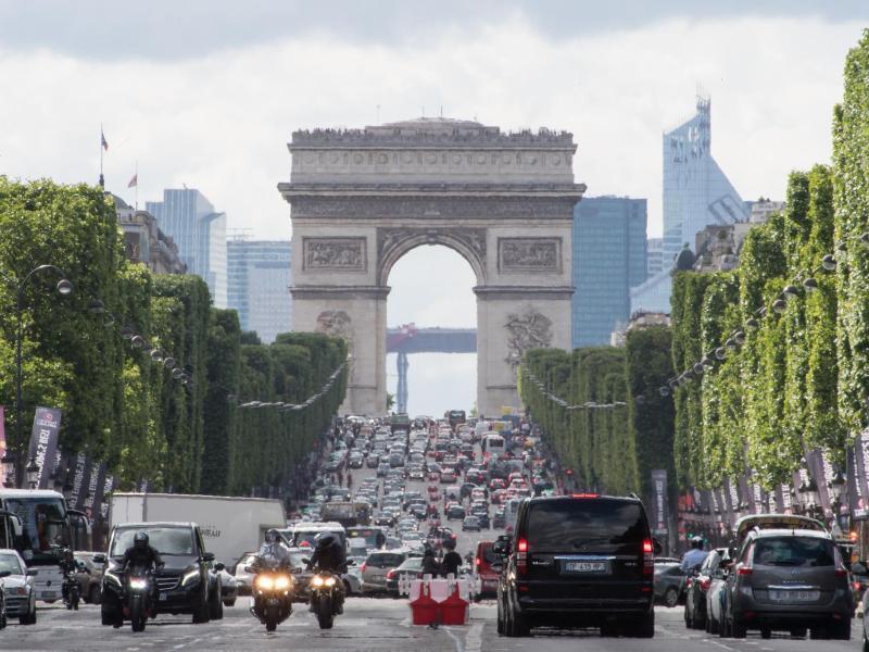 Bild zu Verkehr in Paris