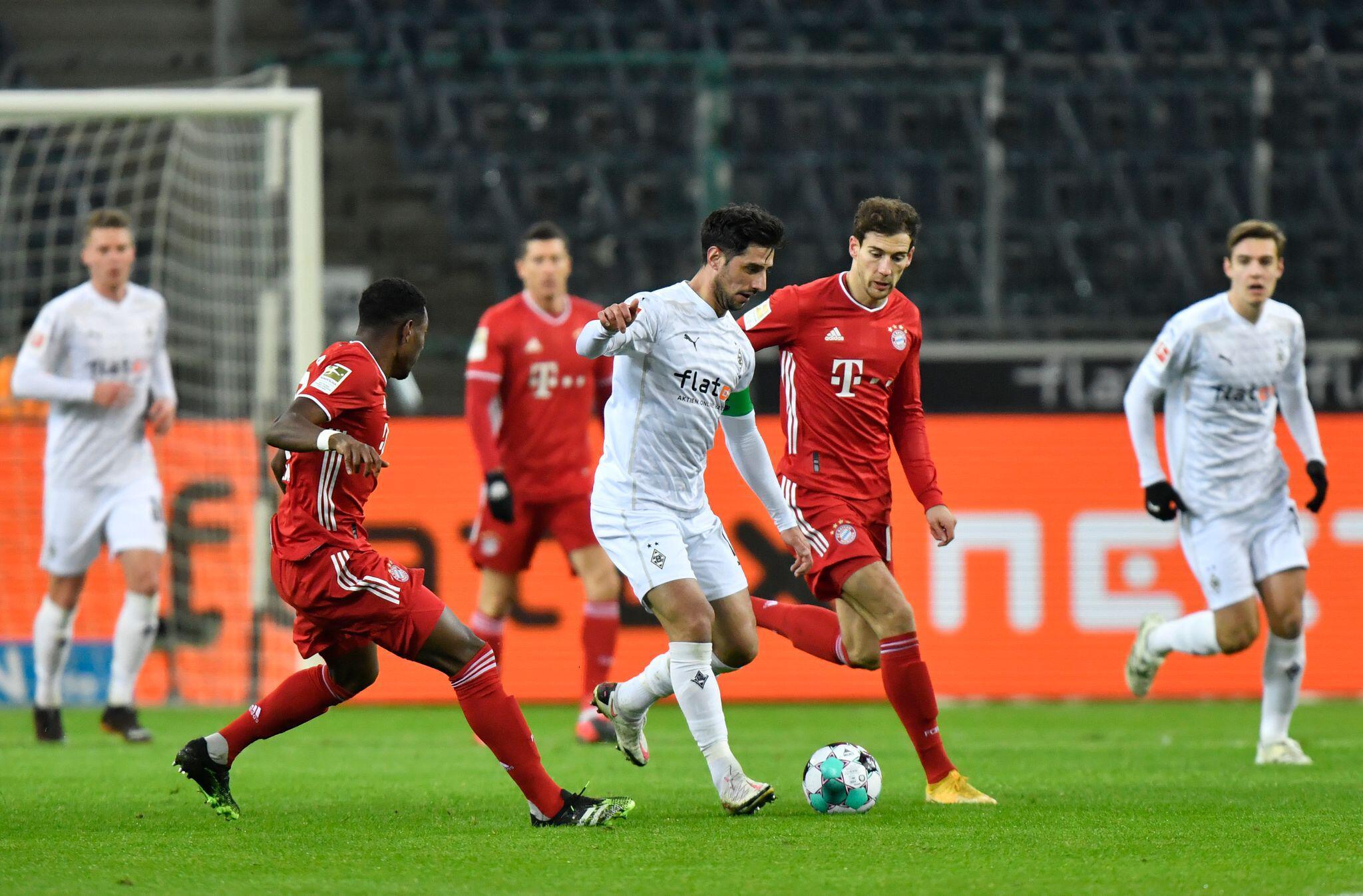 Bild zu Borussia Mönchengladbach - FC Bayern München