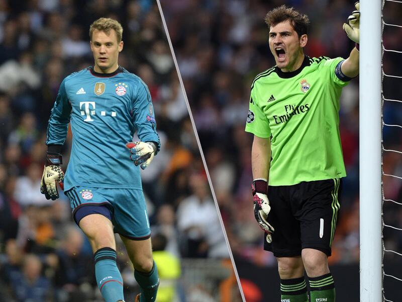 Bild zu Manuel Neuer gegen Iker Casillas