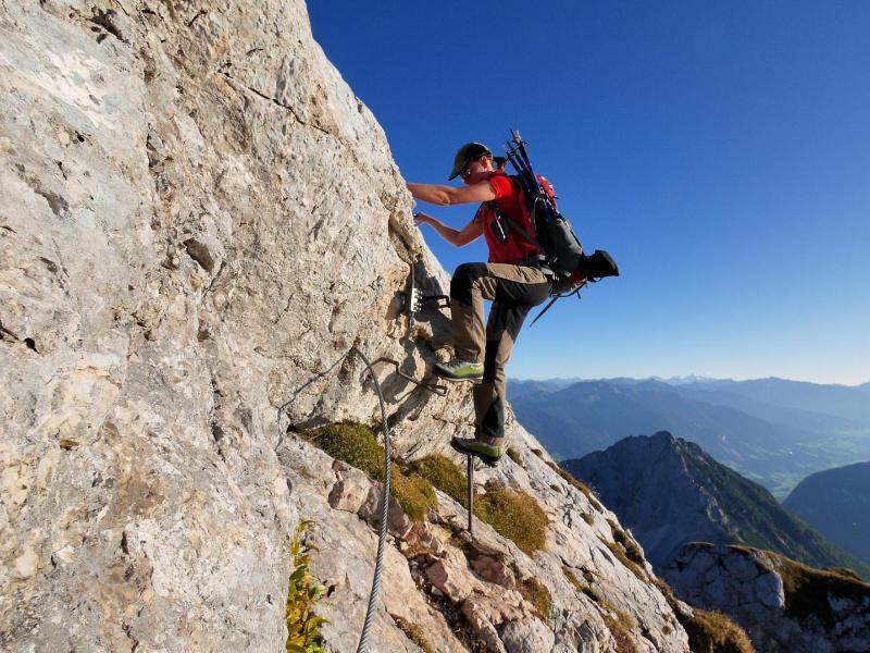 Bild zu 5-Gipfel-Klettersteig