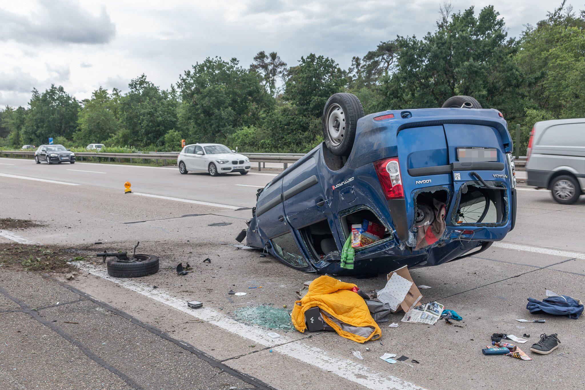 Bild zu Unfall nach Verfolgungsjagd