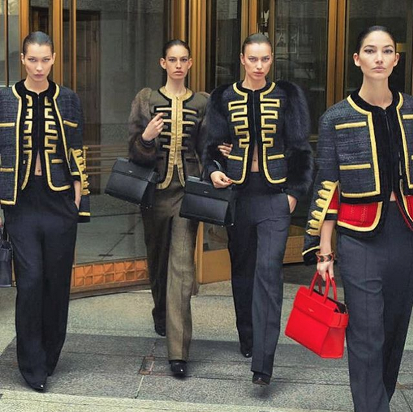 Bild zu Bella Hadid für Givenchy