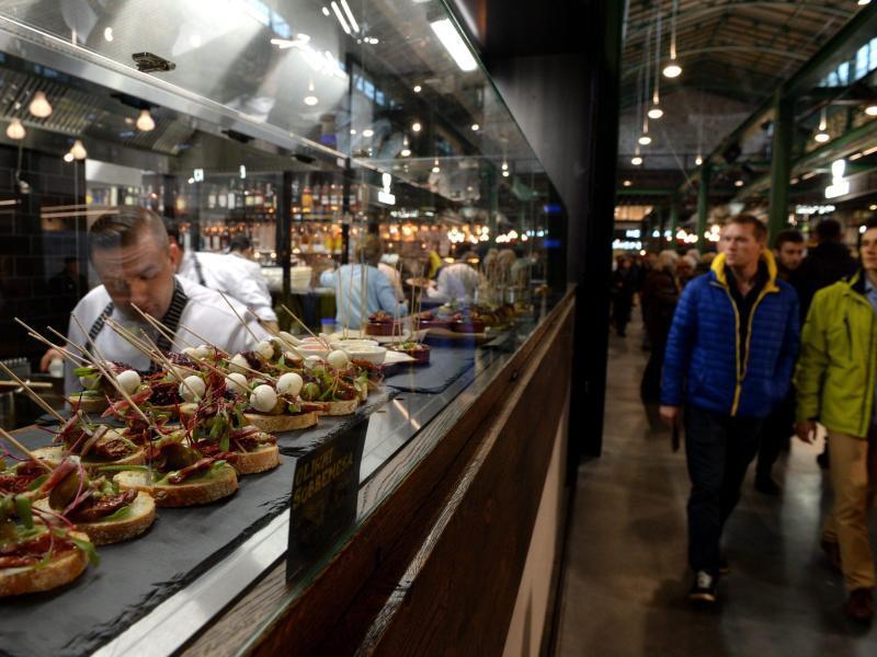 Bild zu Warschauer Markthalle