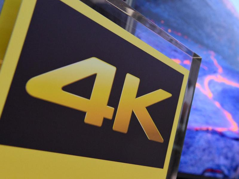 Bild zu Monitor mit 4K-Auflösung