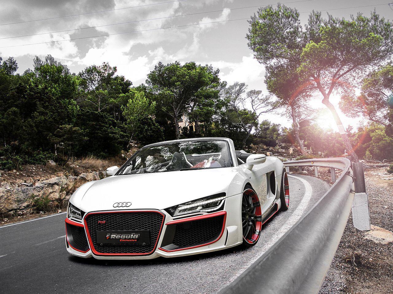 Bild zu Audi R8 V10 Spyder von Regula Tuning mit mächtig viel Carbon