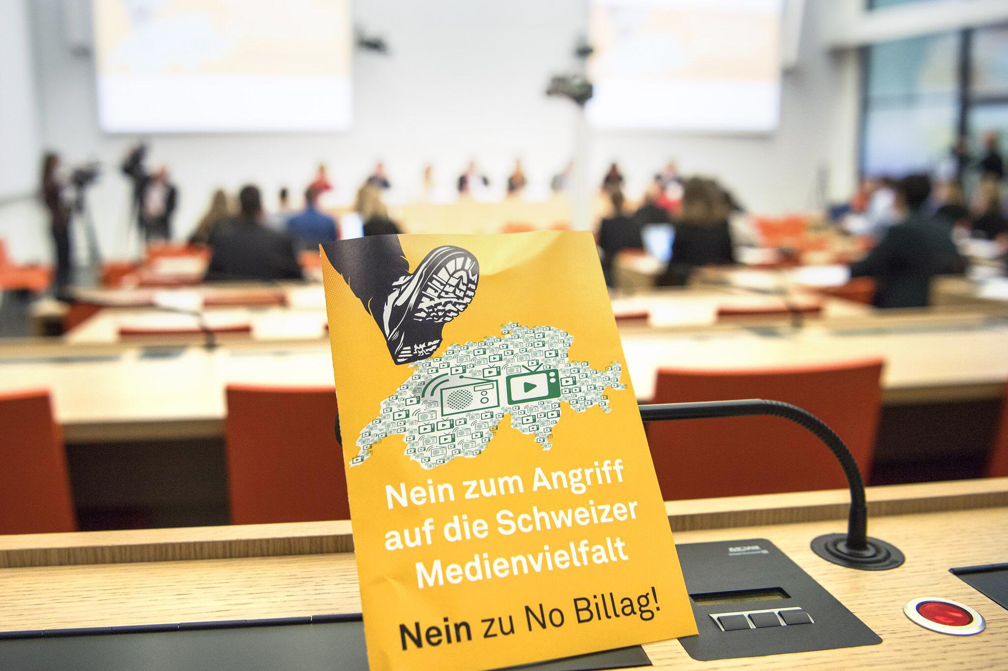 Bild zu Schweizer Volksentscheid über die Rundfunkgebühren