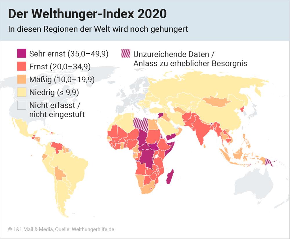 Der Welthunger-Index 2020