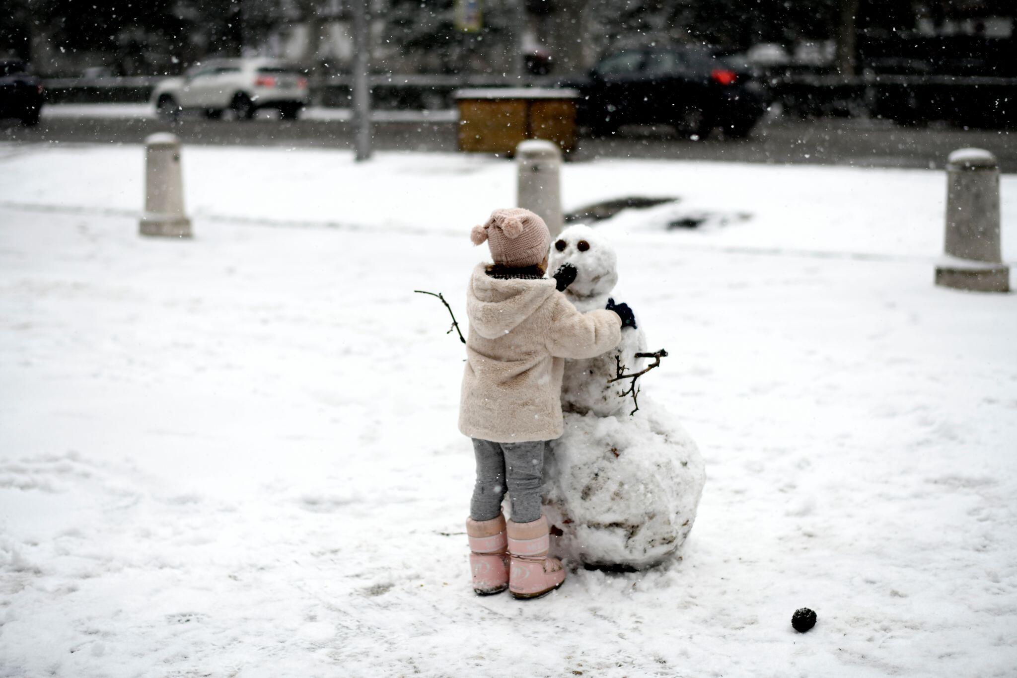 Bild zu Schnee in Spanien