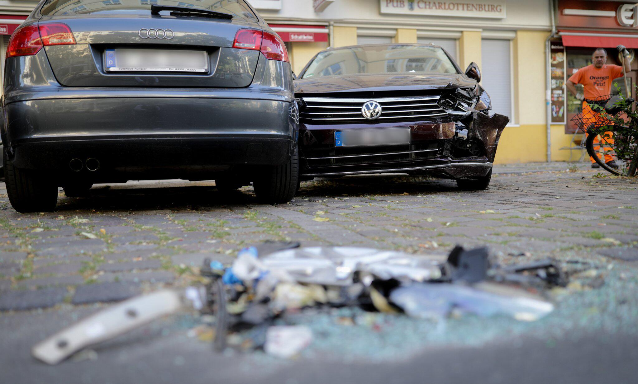 Bild zu Radlerin bei Verfolgungsjagd in Berlin getötet