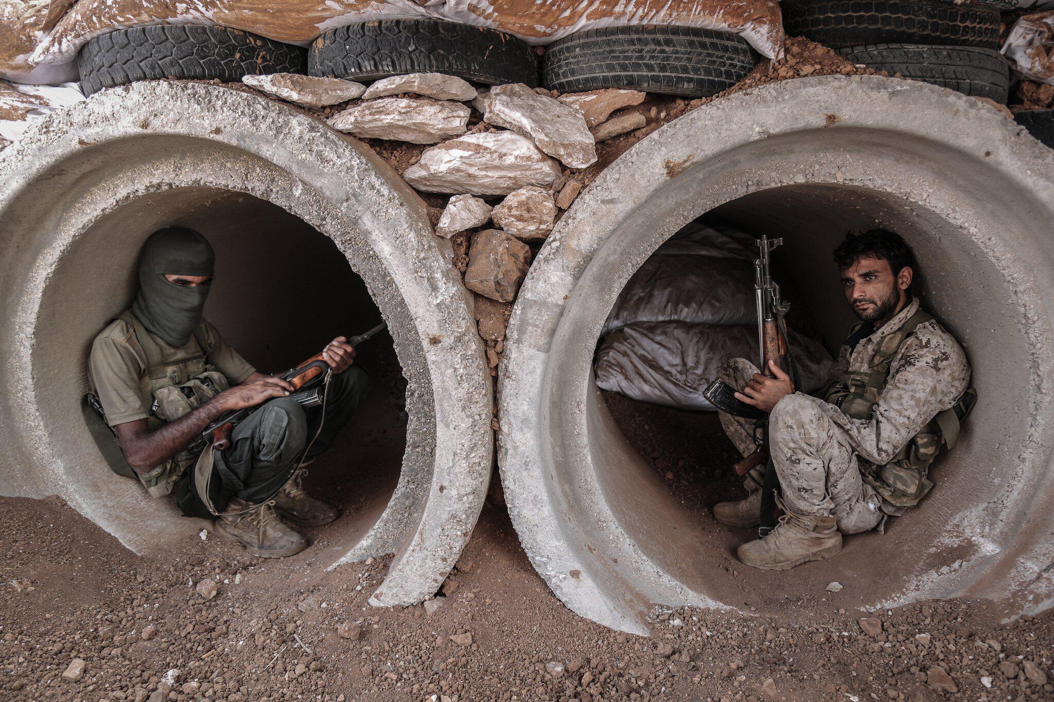 Bild zu Syrischer Bürgerkrieg Frontlinie in der Provinz Hama