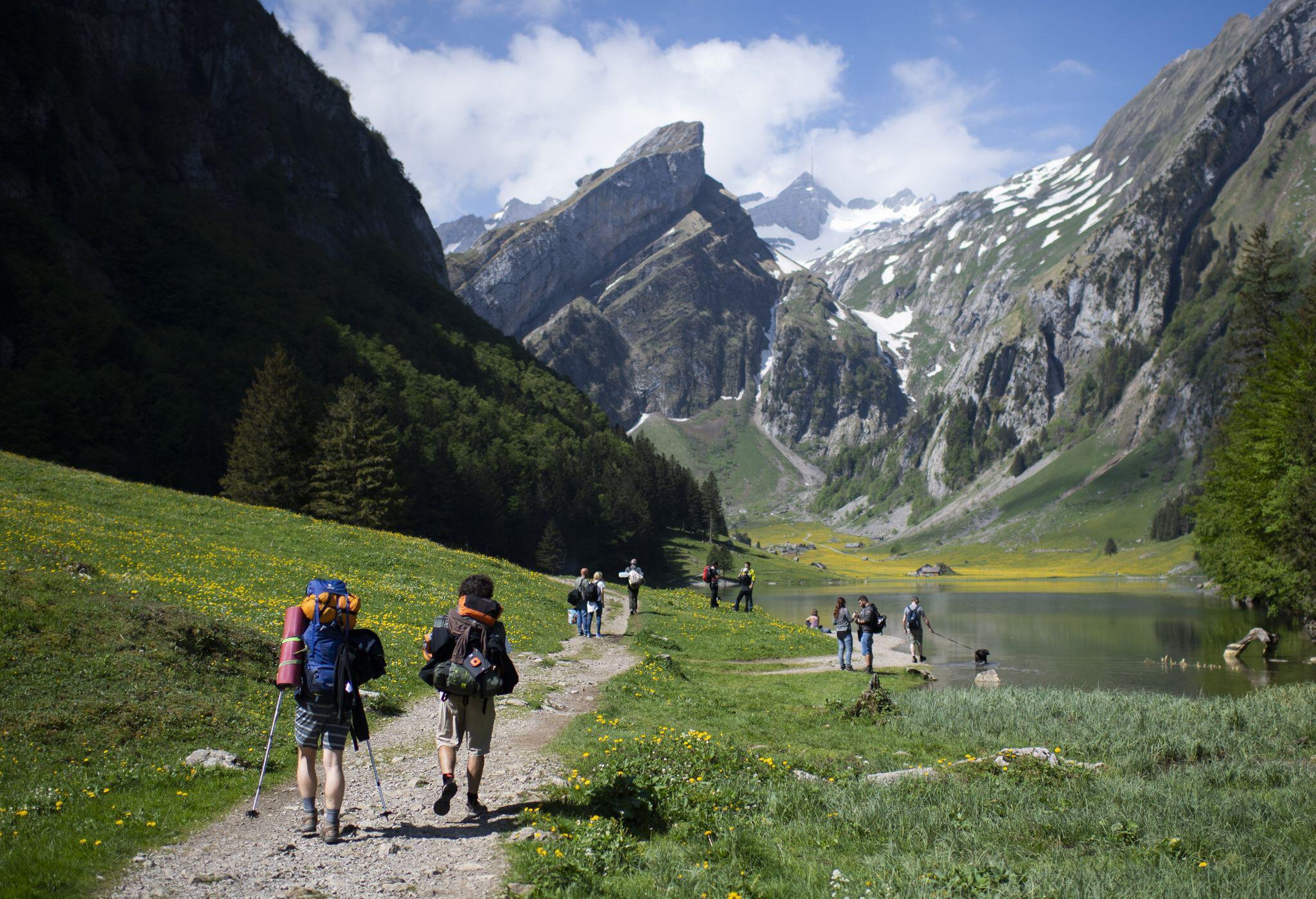 Bild zu Wandern in der Schweiz