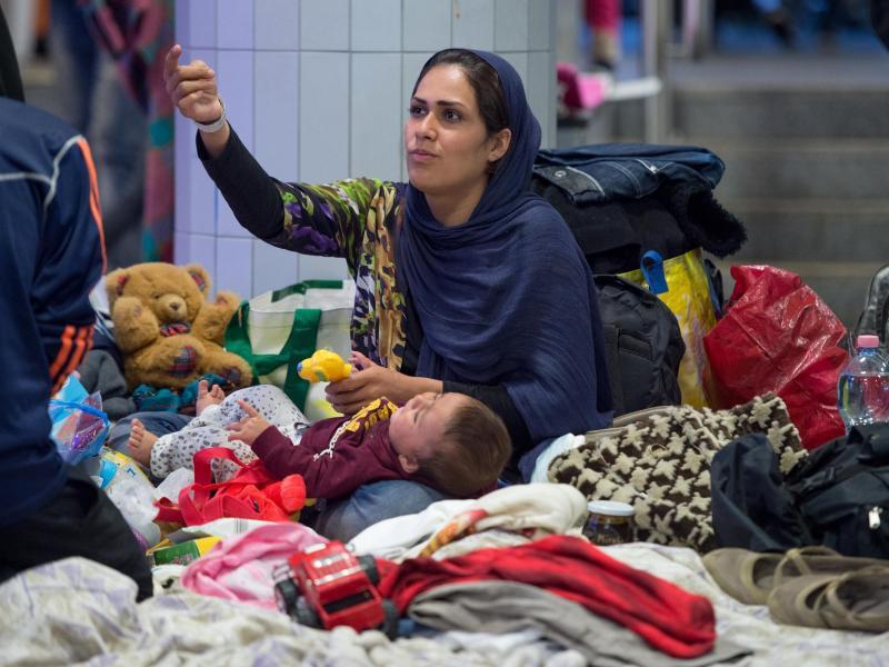 Bild zu Flüchtlinge in Budapest