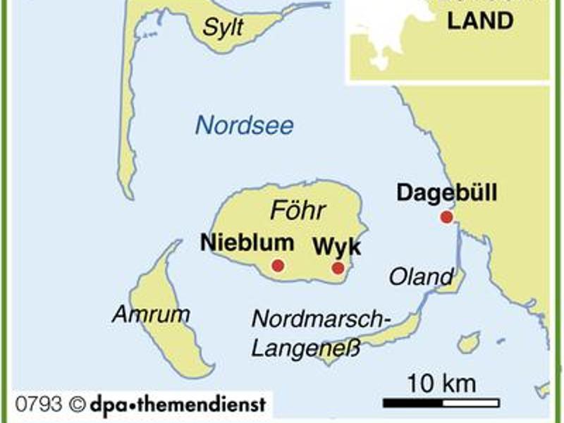Bild zu Karte Föhr