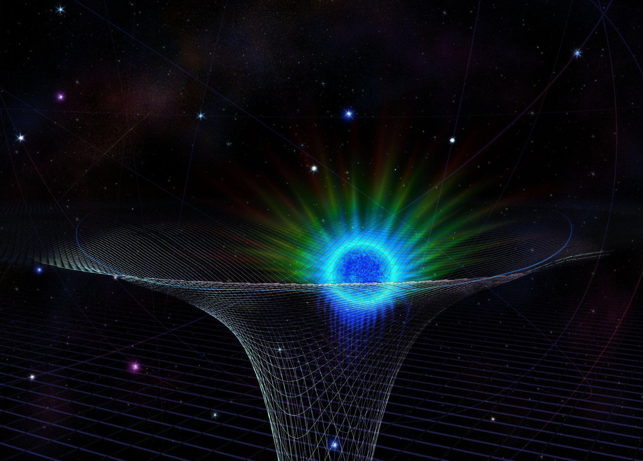 Bild zu Der Stern SO-2 passiert schwarzes Loch