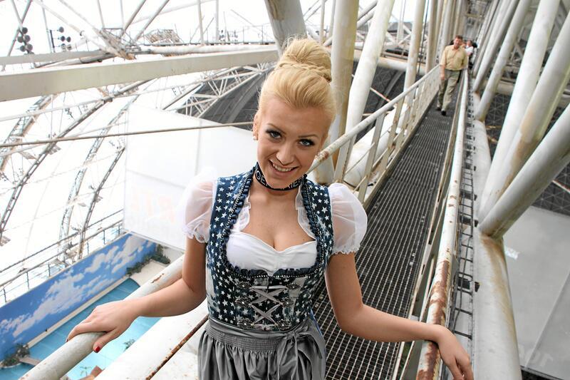 Bild zu Miss Germany im Dirndl