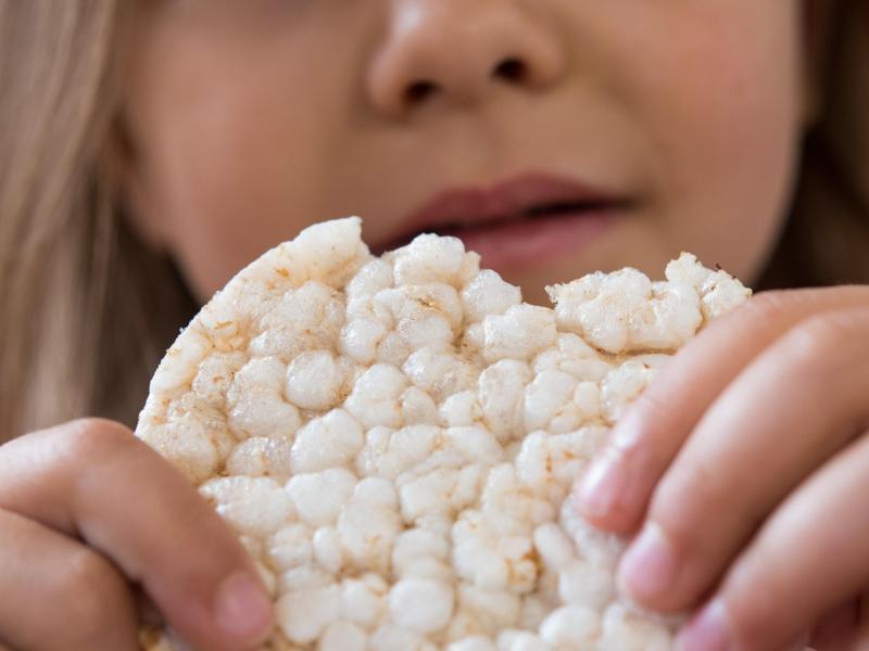 Bild zu Reiswaffel