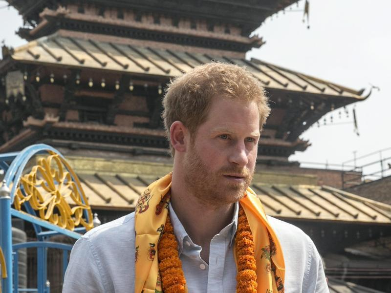 Bild zu Prinz Harry in Nepal