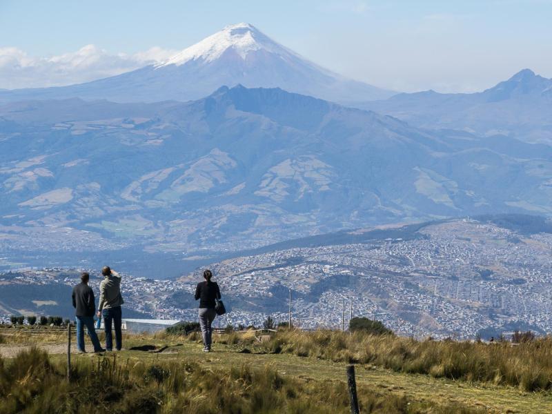 Bild zu Ausblick vom Rucu Pichincha