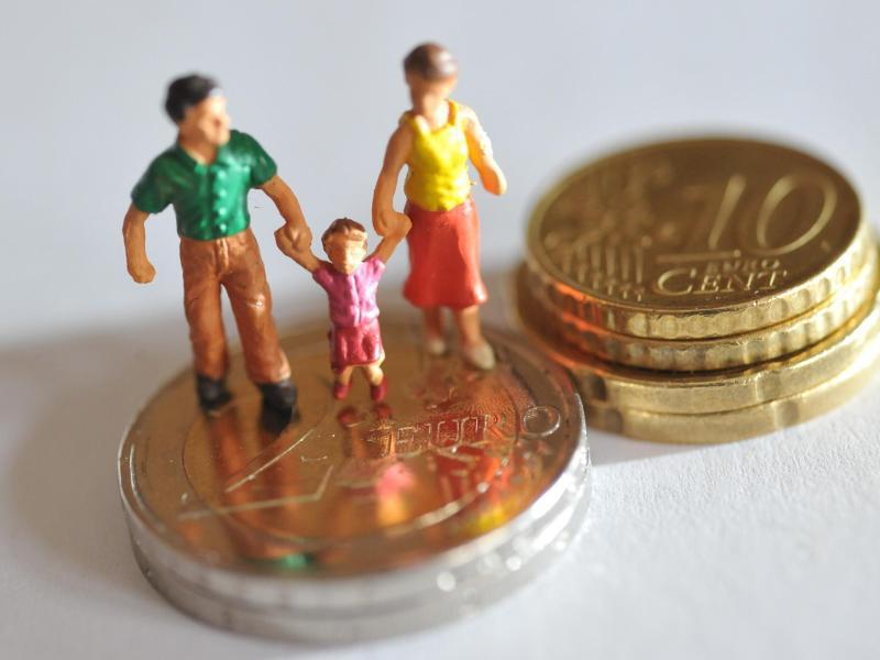 Bild zu Streit ums Elterngeld