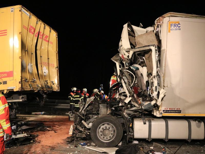 Bild zu Unfall auf der A3