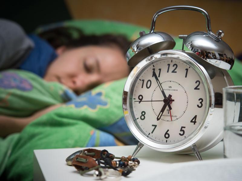 Bild zu Endlich schlafen