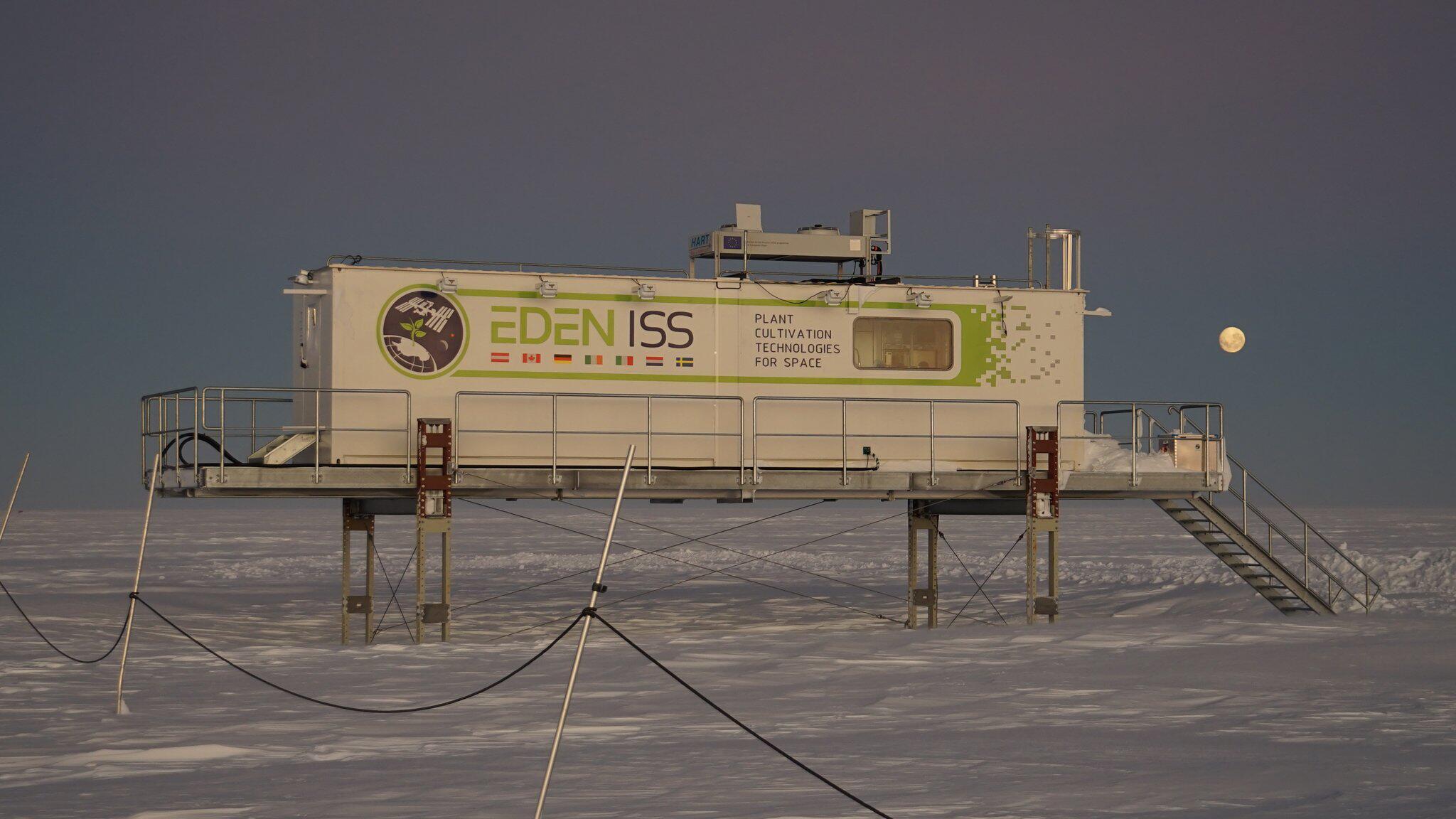 Bild zu Antarktis-Gewächshaus