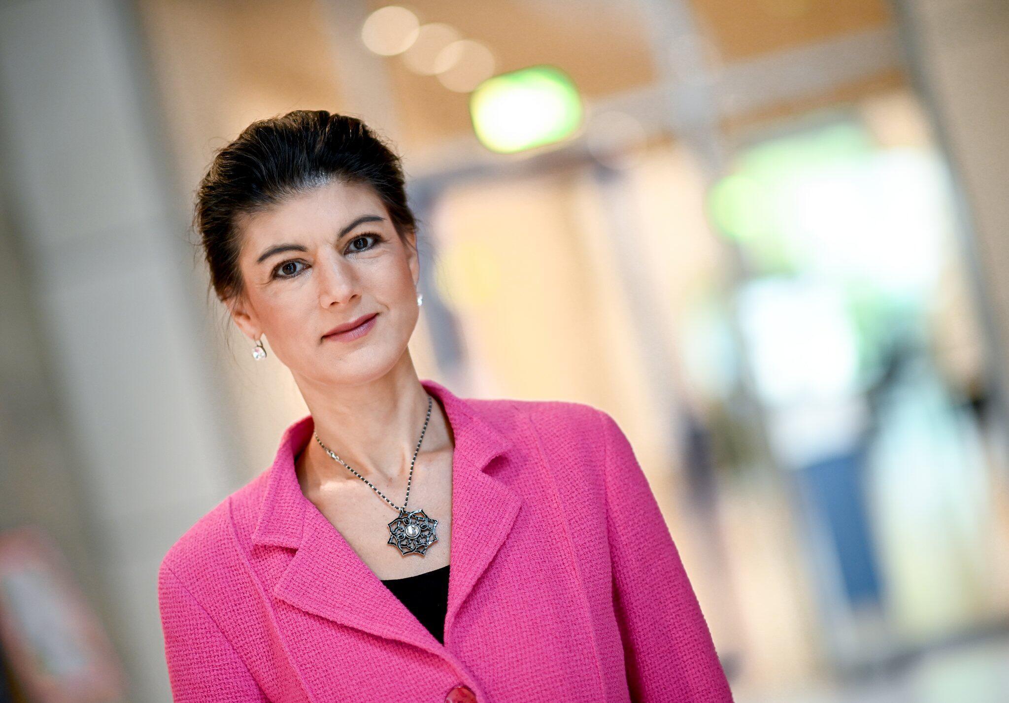 Bild zu Linksfraktionschefin Sahra Wagenknecht