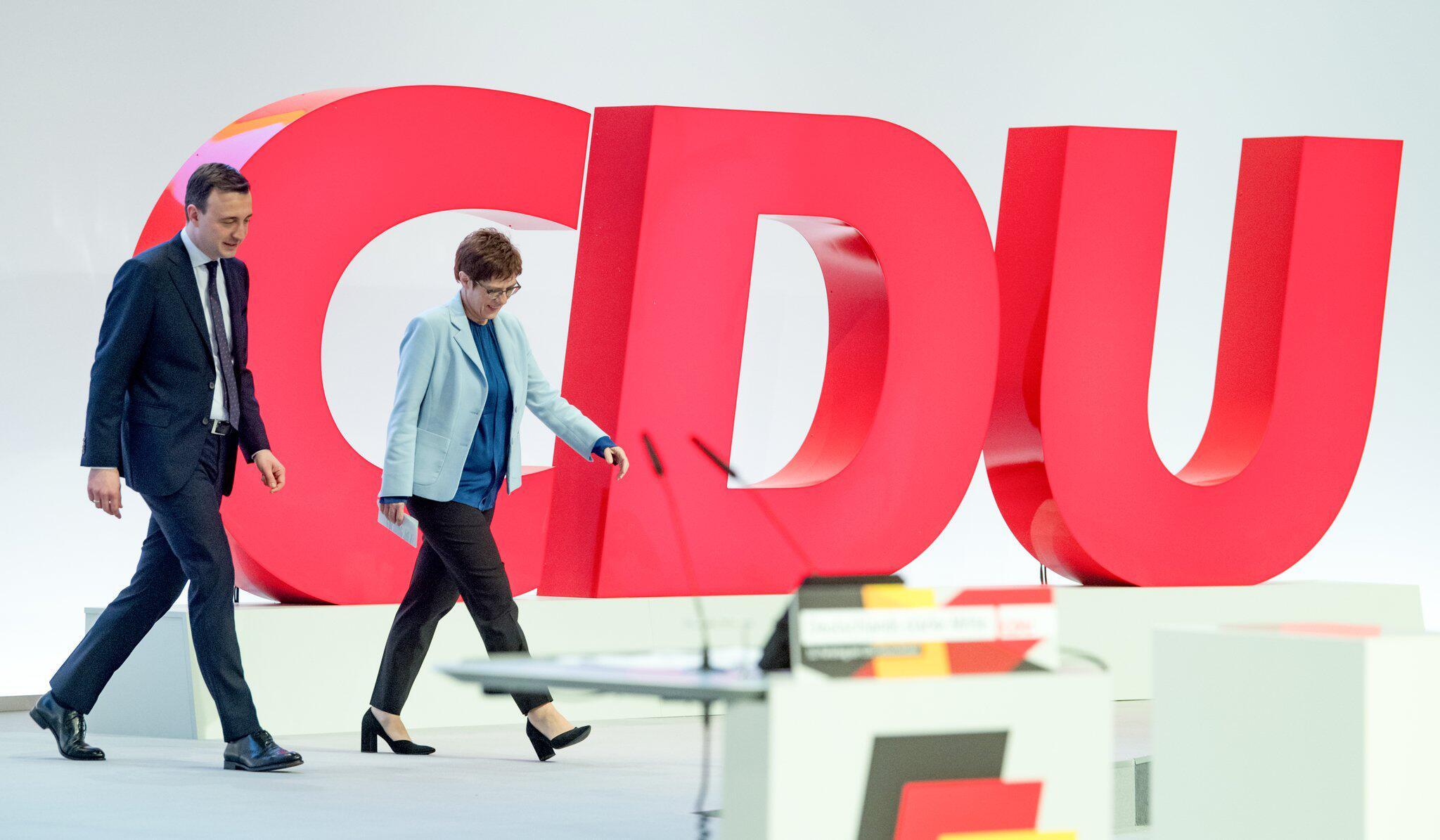 Bild zu Vor CDU-Bundesparteitag