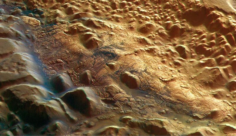Bild zu Iani-Chaos-Areal auf dem Mars