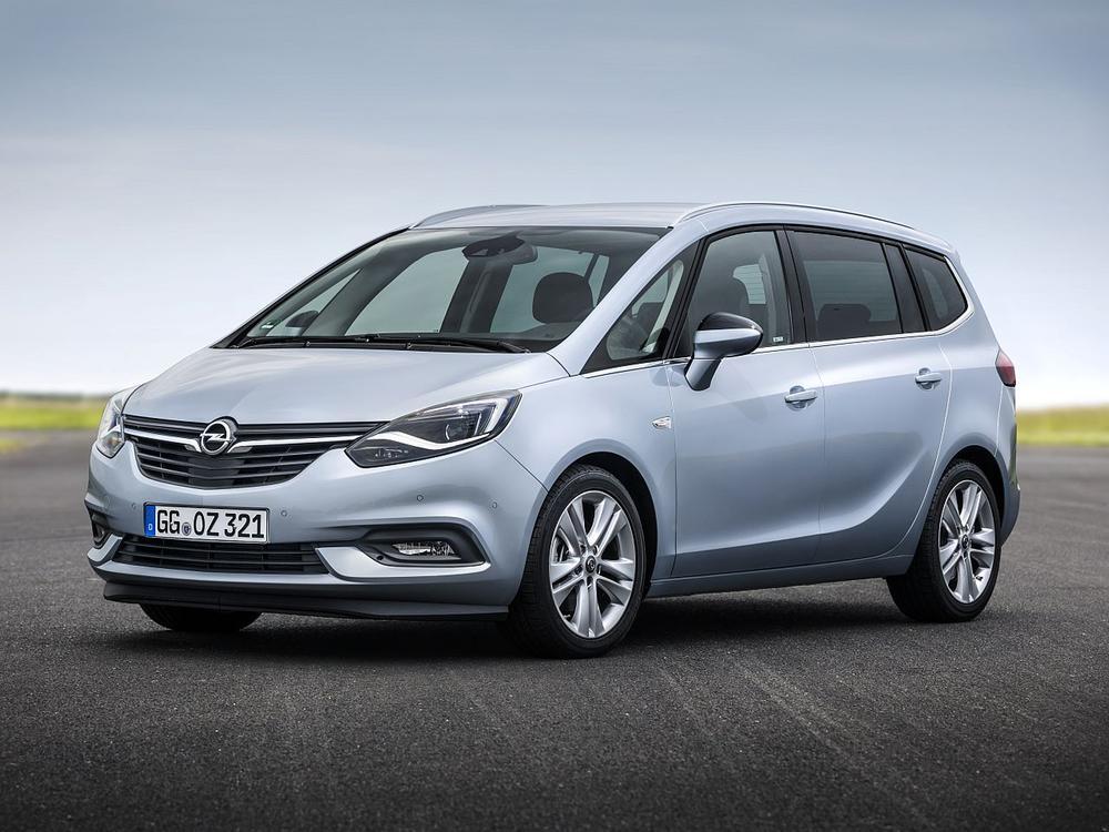 Bild zu Platz 2: Opel Zafira