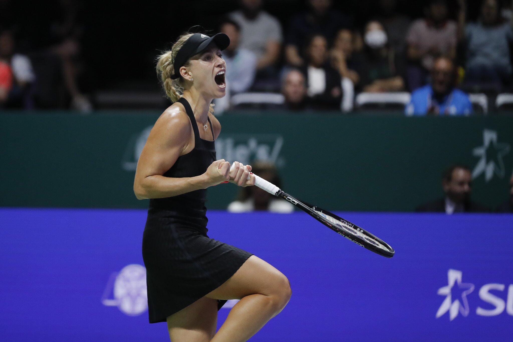 Bild zu WTA-Tour - Championships in Singapur, Angelique Kerber