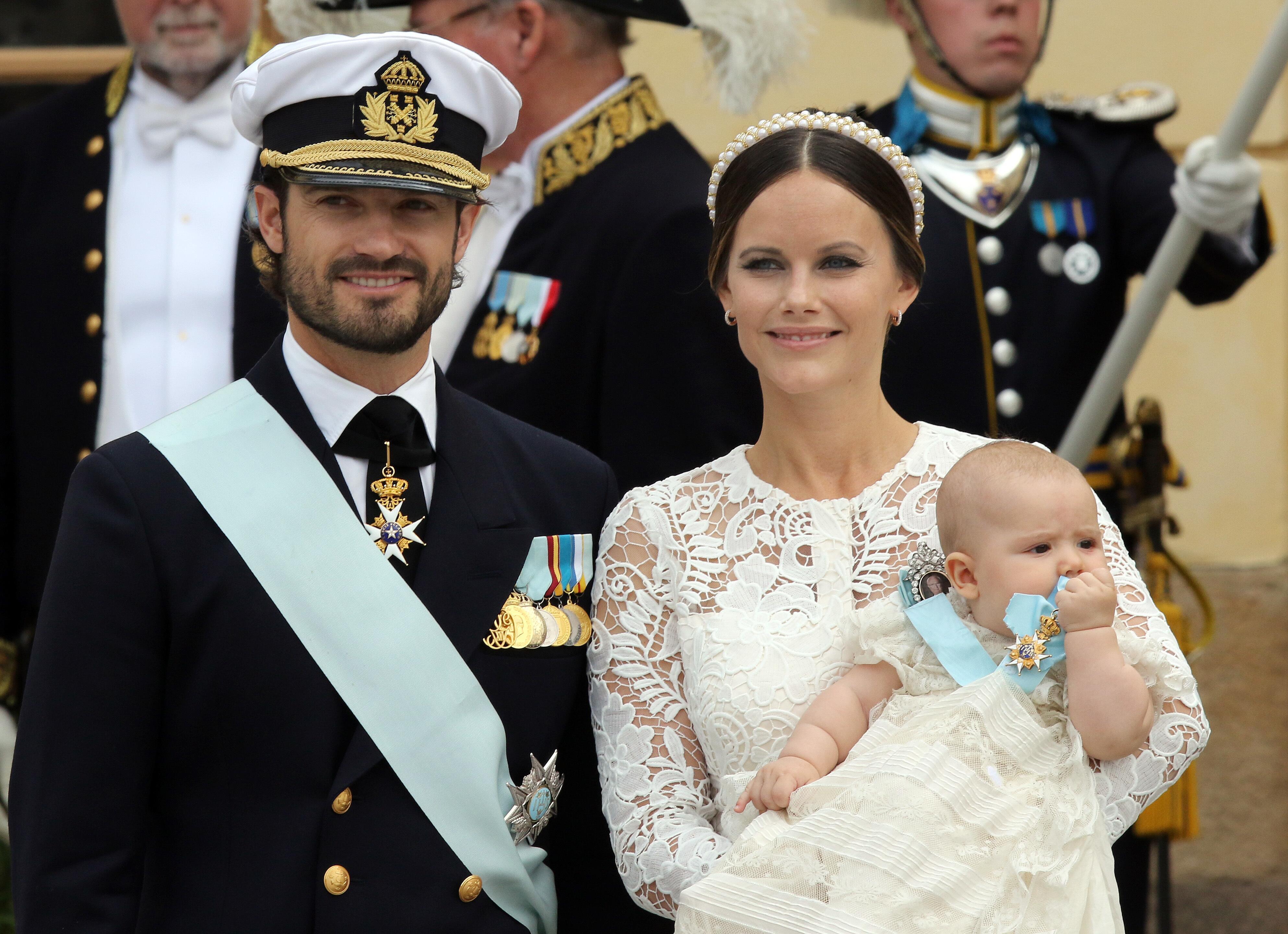 Schwedens Prinz Carl Philip Und Seine Frau Sofia Sind Eltern