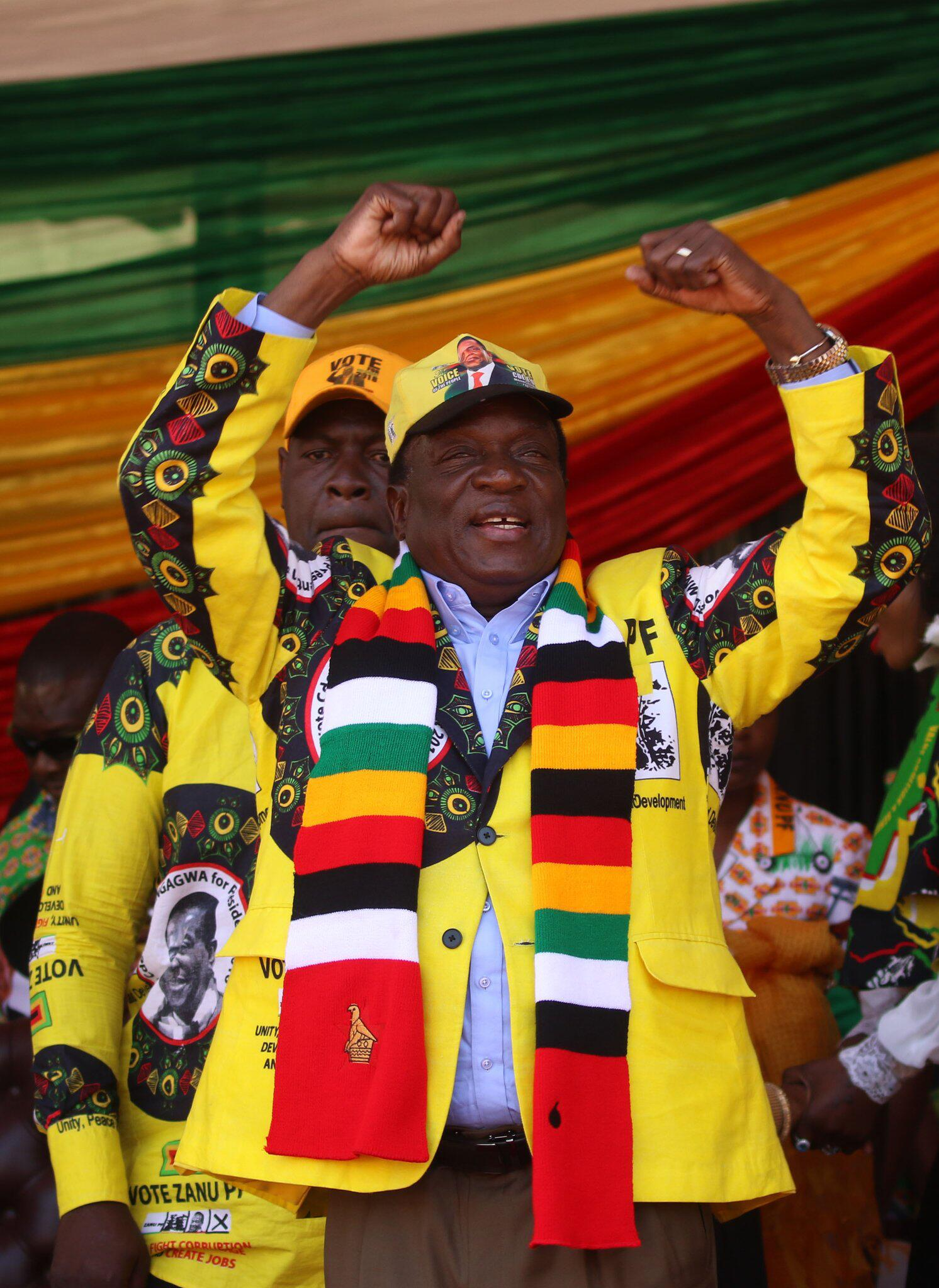 Bild zu Mnangagwa gewinnt Präsidentenwahl