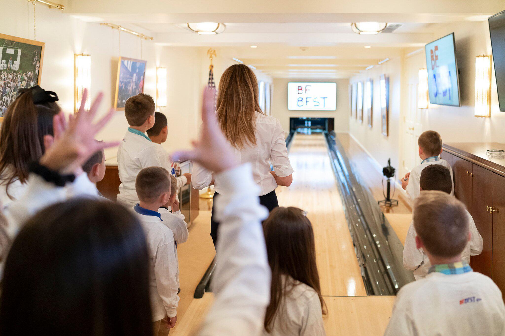 Bild zu Bowlingbahn im Weißen Haus renoviert