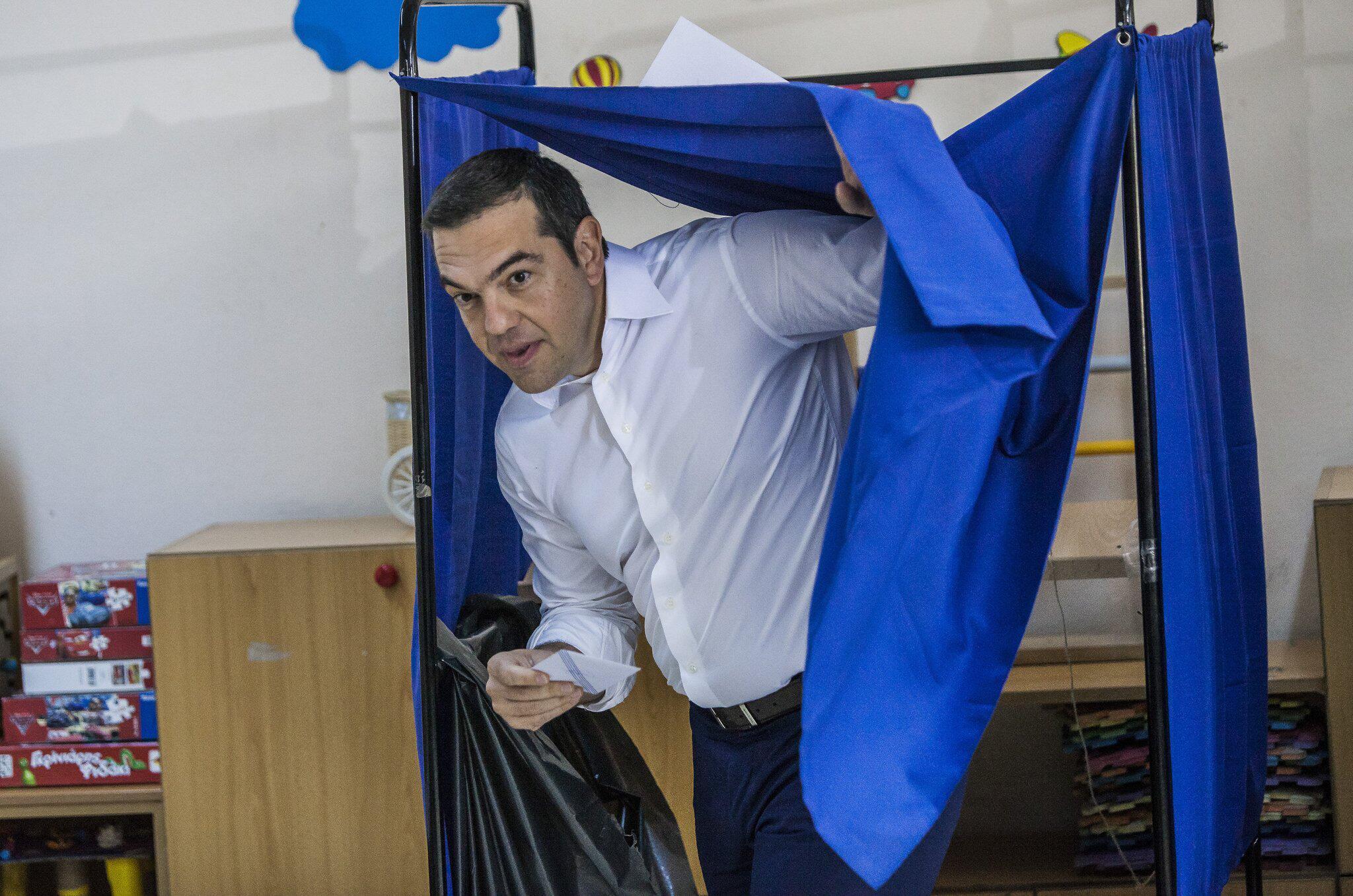 Tsipras gesteht Niederlage ein: Konservative gewinnen Parlamentswahl in Griechenland