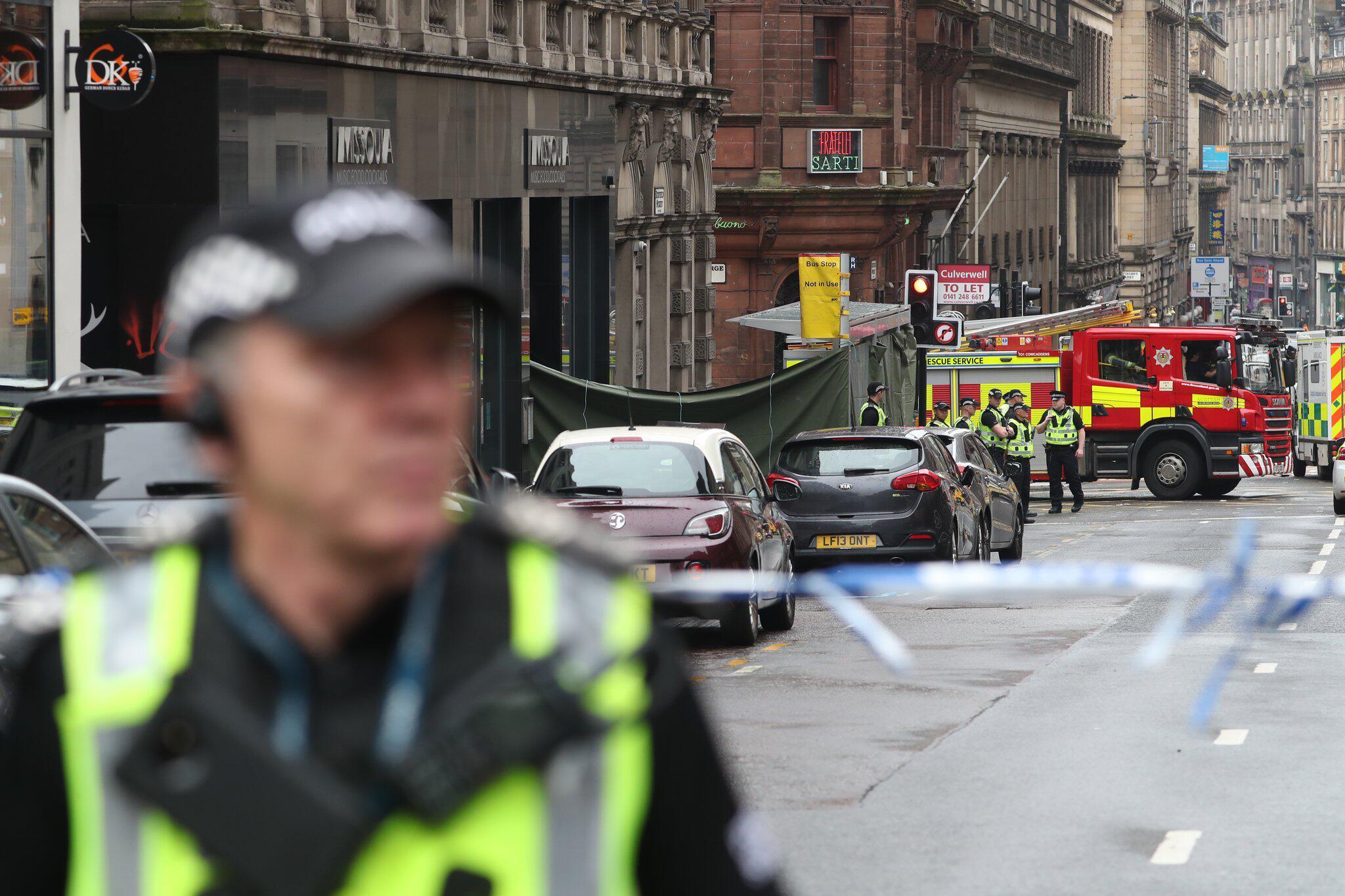 Bild zu Zwischenfall in Glasgow