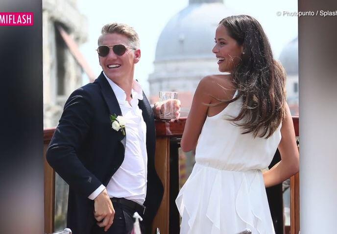 Bild zu Schöne Braut! Bastian Schweinsteiger hat seine Ana geheiratet