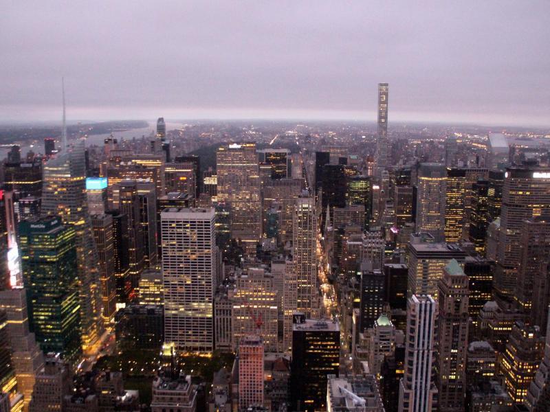 Bild zu Ausblick vom Empire State Building