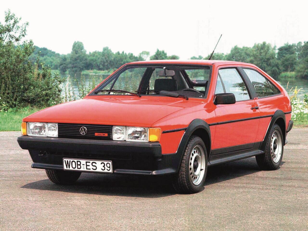 Bild zu VW Scirocco II GTX von 1985