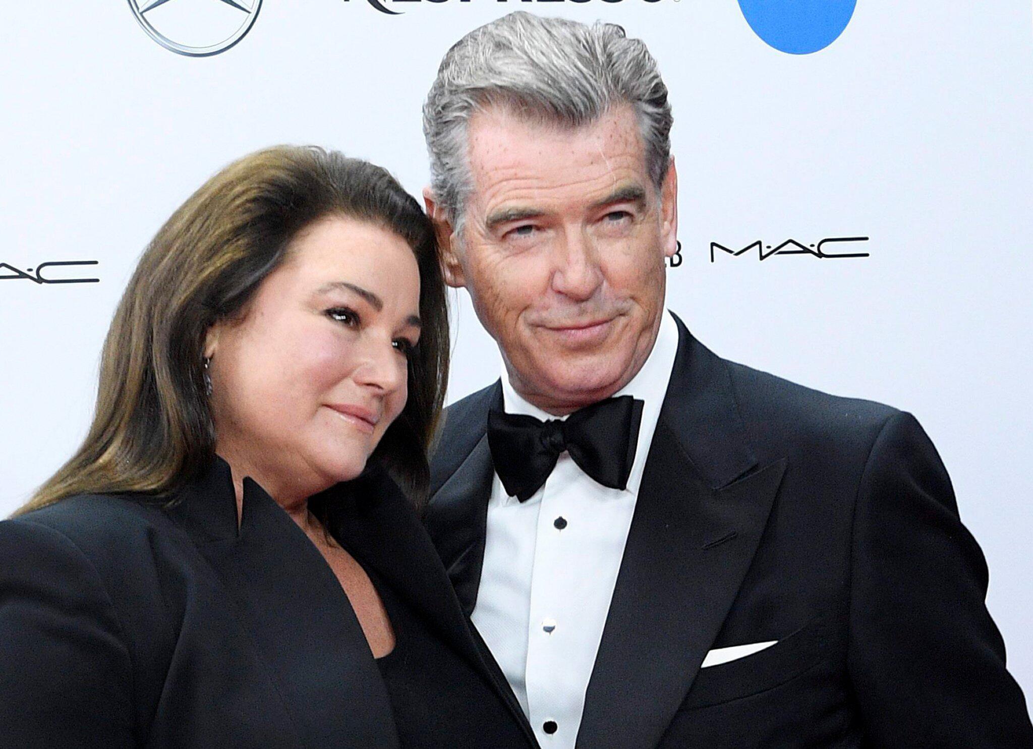 Bild zu Pierce Brosnan und Frau Keely