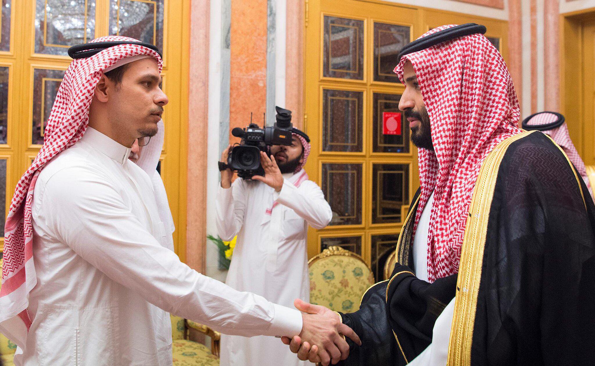 Bild zu Sohn von vermisstem Journalisten bei König Salman