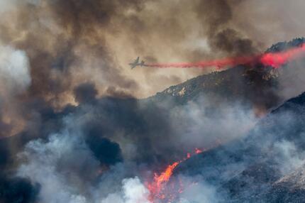 Waldbrände in Kalifornien