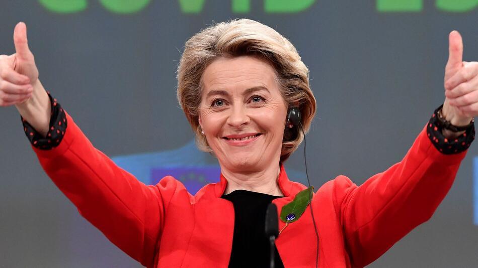 EU-Kommissionspräsidentin Ursula von der Leyen ist zum ersten Mal Oma geworden